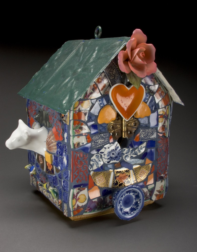 Heart Bird House
