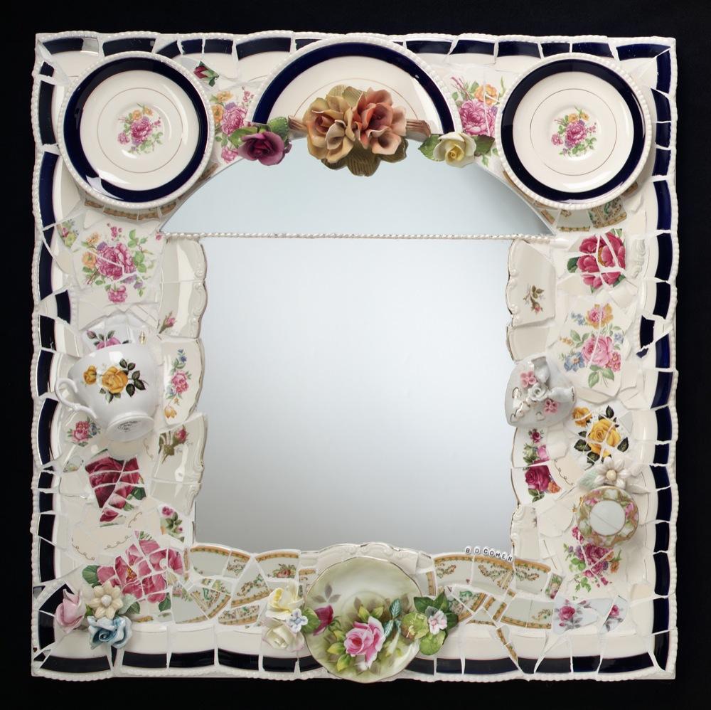 """Fondeville Mirror   24"""" x 24"""""""