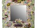 """Bouquet Mirror   24"""" x 24"""""""
